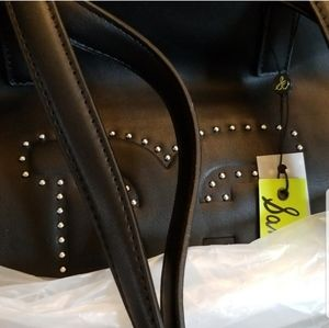 New Sam Edelman Double Handle Shoulder Bag